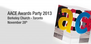 Among the top ten AACE Awards finalists – Toronto