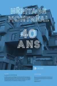 Heritage Montreal 40th Anniversary